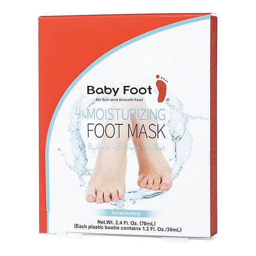 Baby Foot Moisturising Foot Mask (FREE BABY FOOT MOISTURISER)