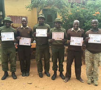 Lion Ranger Unit Mpala.