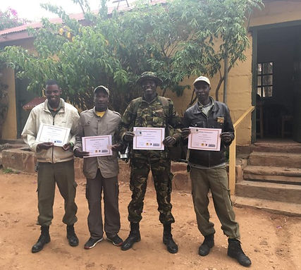 Lion Ranger Unit Ol Maisor. Save wild lions. Promote Co-existence. Lion Conservation and Research Africa.