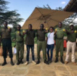 Lion Ranger Unit Mugie. Save wild lions. Promote Co-existence. Lion Conservation and Research Africa.