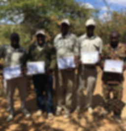 Lion Ranger Training El Karama Guides. Save wild lions. Promote Co-existence. Lion Conservation and Research Africa.
