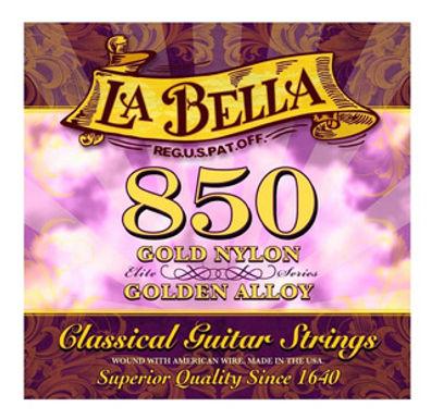 Cuerdas Para Guitarra Clásica La Bella 850