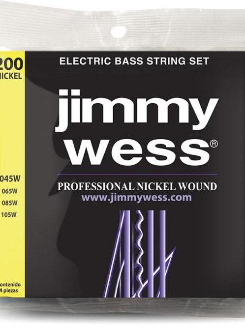 CUERDAS PARA BAJO JIMMY WESS 045-105