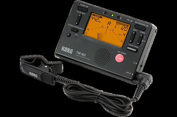 afinador- metronomo korg TM-60C