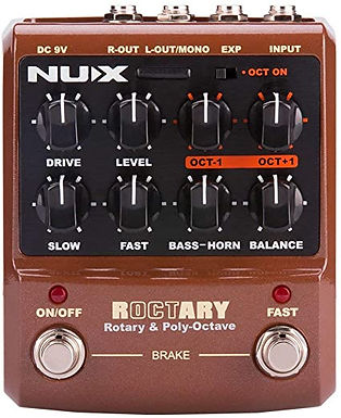 PEDAL NUX ROCTARY ROTARY & OCTAVE