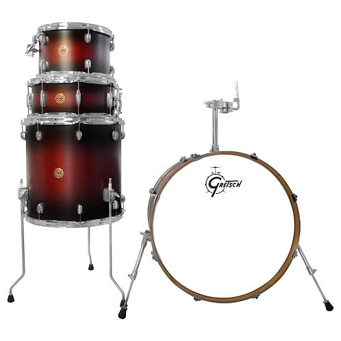BATERIA GRETSCH S/STANDS CAT MAPLE 22