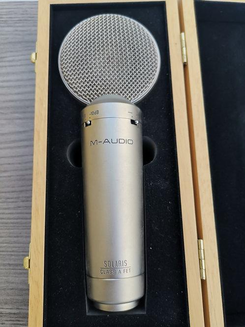 Microfono de condensador M-audio solaris