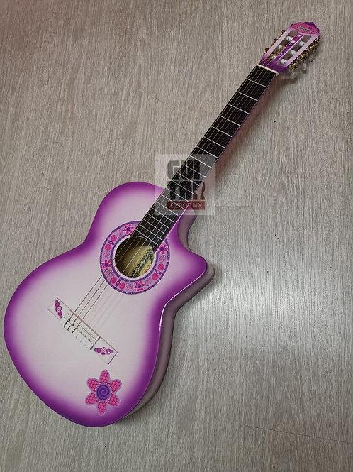 Guitarra Acústica la española decorada