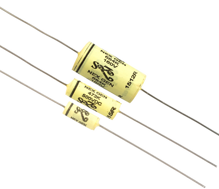 capacitor zoso yellow mustard .047 μF