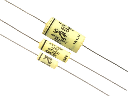 capacitor zoso yellow mustard .0022 μF