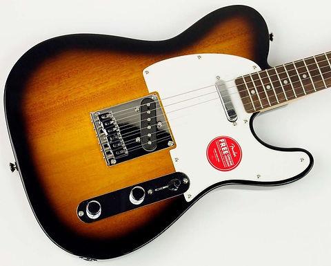 Guitarra Squier Telecaster Bullet Sunburst