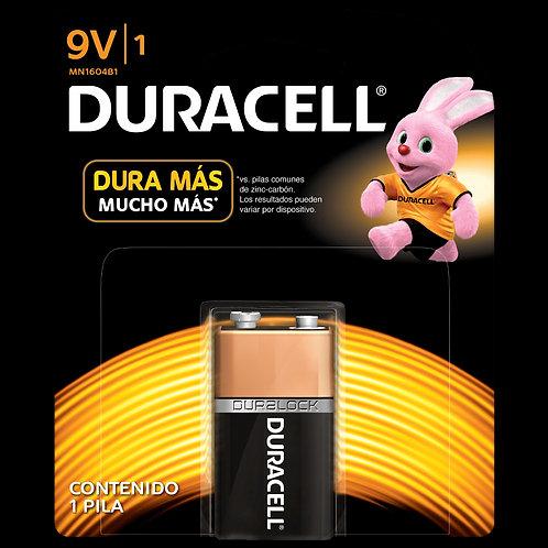Bateria duracell 9V