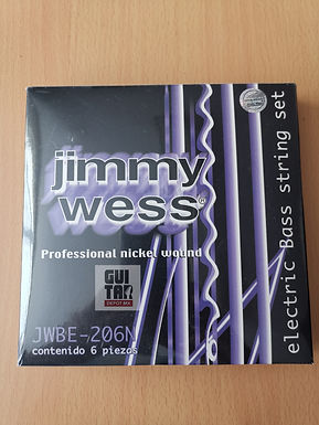 Cuerdas jimmy wess JWBE-206N 6 cuerdas