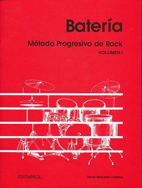 BATERIA METODO PROGRESIVO DE ROCK VOL.1