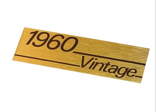 Logo gabinete marshall 1960 vintage