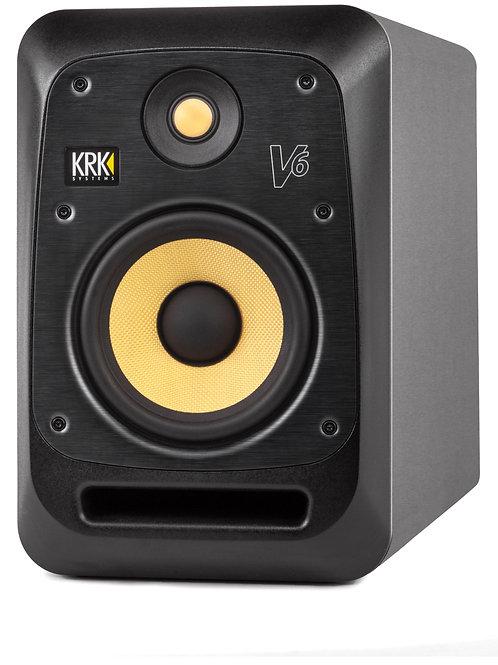 """Monitor de Referencia KRK, Auto-amplificado, altavoz 6"""" V6"""