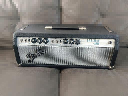 Fender bassman silver face 70's