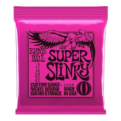 ernie ball super slinky 9-42 2223 nickel