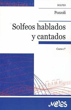 POZZOLI SOLFEOS HABLADOS Y CANTADOS