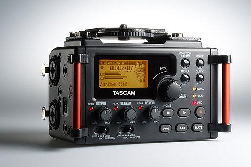 Grabadora portátil de 4 Pistas para camaras DSLR TASCAM DR60DMKii
