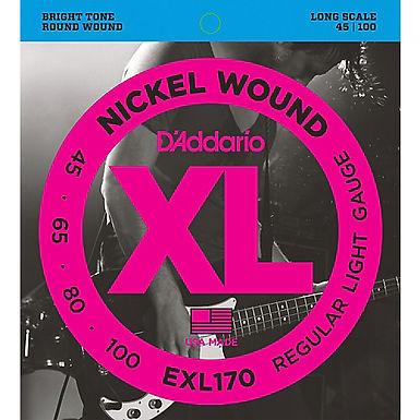 cuerdas addario bajo EXL170