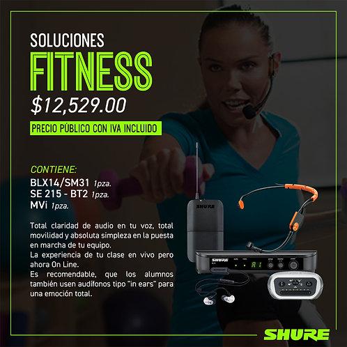 Paquete Shure, Soluciones Fitness