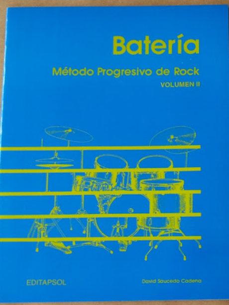 BATERIA METODO PROGRESIVO DE ROCK VOL.II
