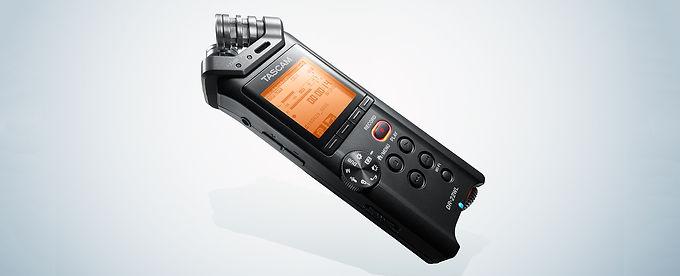 Grabadora de mano de 2 Pistas y conexion WIFI tascam DR22WL