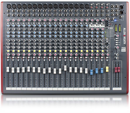 Mezcladora allen and heath ZED-22FX