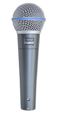 BETA 58A Microfono Profesional Shure Beta 58 para voz