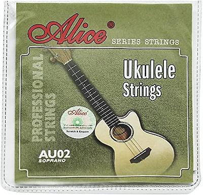 Cuerdas Ukulele Soprano Nylon Cristalino Alice Au04