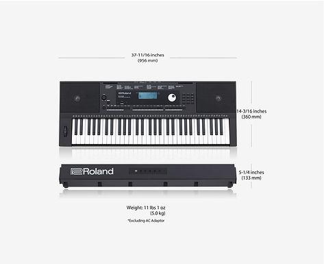 teclado roland E-X20A