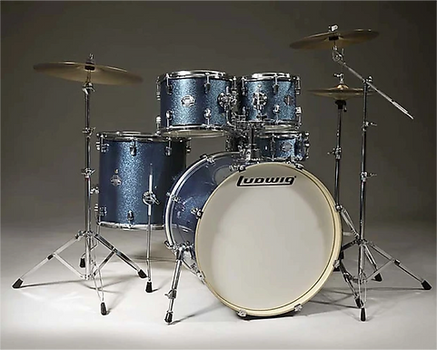 LUDWIG ELEMENT COMPLETE LCF52G BLUE