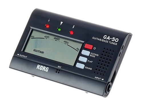 Afinador Korg GA-50 guitarra/bajo