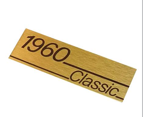 Logo gabinete marshall 1960 classic