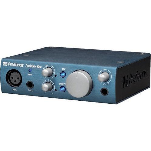 Interfaz de grabacion audio box iONE pre sonus