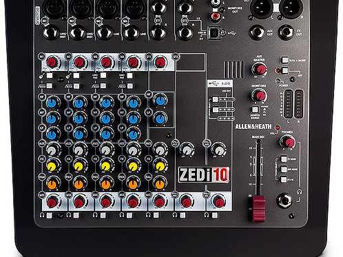 Mezcladora allen and heath ZEDi-10