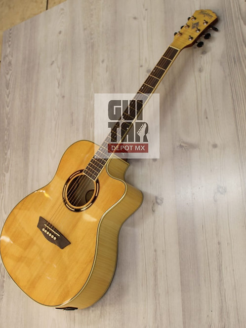 GUITARRA WASHBURN E/ACUSTICA AG40CE