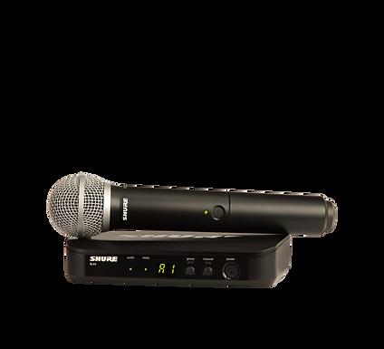 Microfono Inalambrico Shure BLX24/PG58