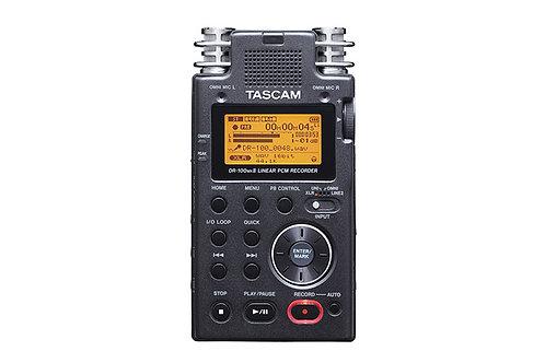 Grabadora profesional de mano TASCAM DR100 MKII