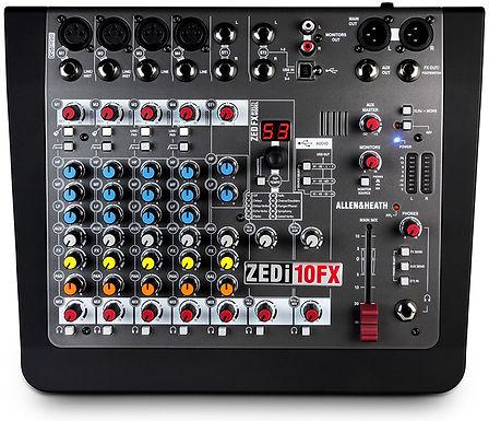 Mezcladora allen and heath ZEDi-10FX