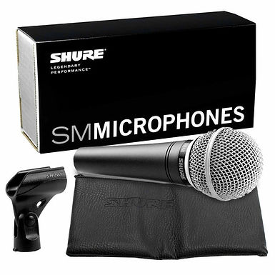 MICROFONO SHURE SM 48 LC