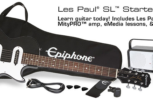LP epiphone starter pack PPEG-ENPSEBCH1