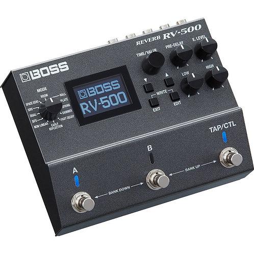 Pedal reverb Boss RV-500
