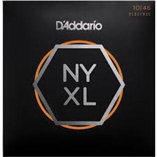 Cuerdas para Guitarra D'Addario NYXL1046 Nickel Wound, Regular Light, 10-46