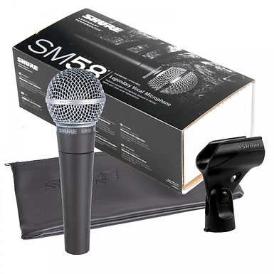 microfono shure SM58-LC