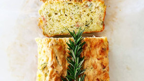 Rosemary and Cheddar Zucchini Loaf