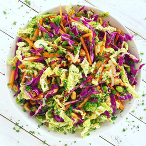 Low Carb Crunchy Coleslaw