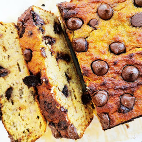 Nut-free Coconut Banana Bread