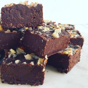 Raw Chocolate Hazelnut Fudge